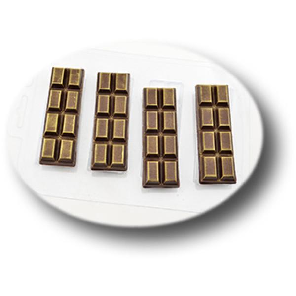 """Форма для шоколада """"Батончик 2*4"""""""