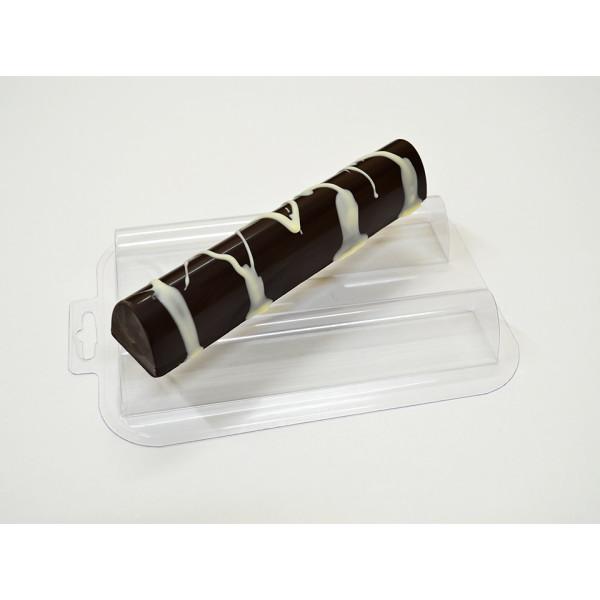 """Форма для шоколада """"Батончик овальный длинный"""""""